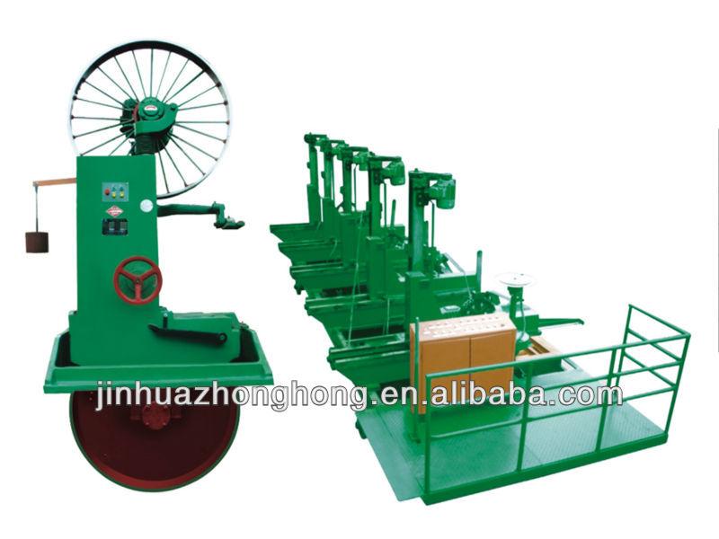 saw machine /horizontal electric band saw cheap woodworking machine (MJ3709)