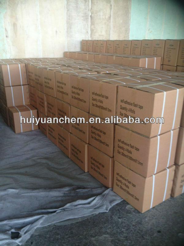 Asphalt/bitumen adhesive tape for roof and marine