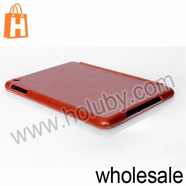 HOCO Smart Wake Sleep Tri-Fold Stand Crystal Leather Case for iPad Mini Retina iPad Mini