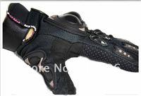 новый мотоцикл велосипед полный палец перчатки черные размер средний
