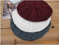 Free Shipping Fahion Women Winter Autumn warm beanie knitted cap wool hat