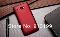Free Shipping 1Pcs Matte Frosted Hard Case Skin Back Cover For HTC Desire 601 Zara Mobile Phone ( 8 colors available)
