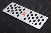 Педали для авто NEW Sport ST Aluminium Foot Pedal Rest Plate MT for Ford Focus