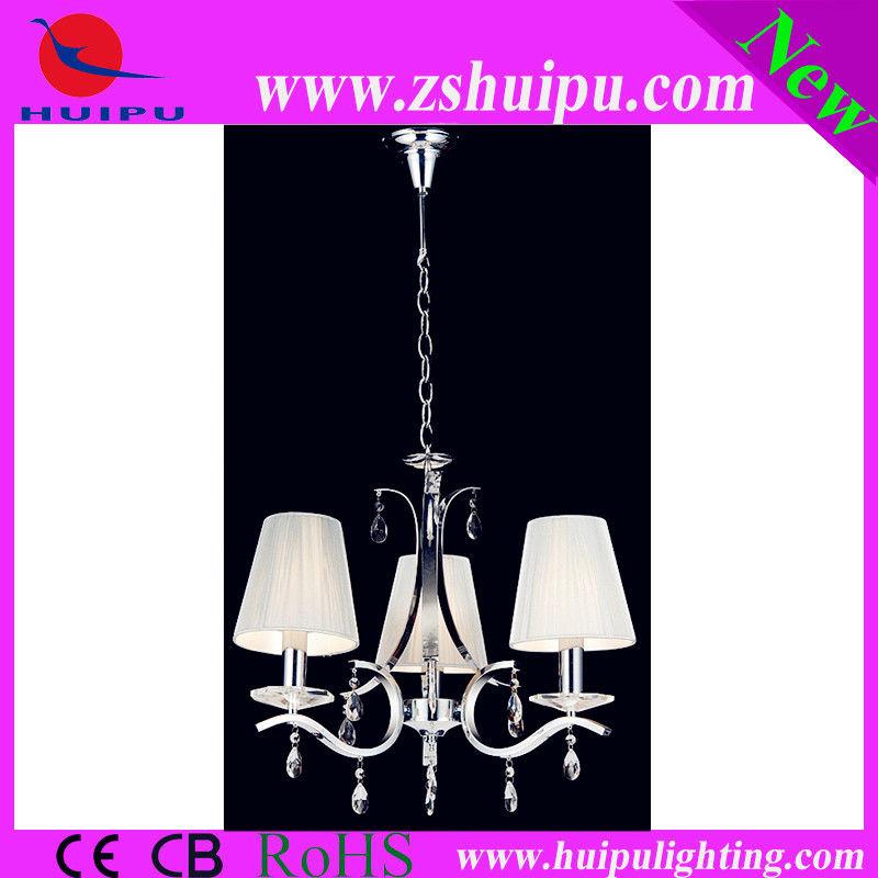 Silver thread modern pendant light/E14