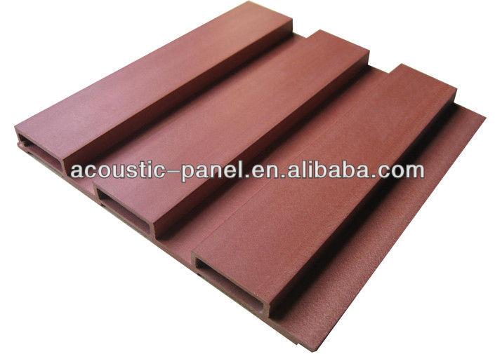 Wpc panneaux greenwood eco bois acoustique panneau for Panneau acoustique exterieur