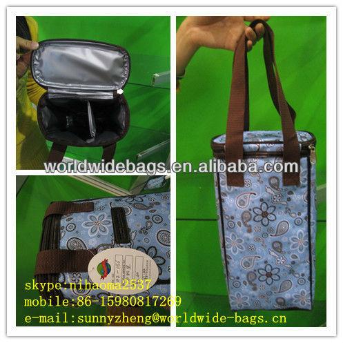 wine cooler bag, bottle cooler bag,water bottle cooler bag