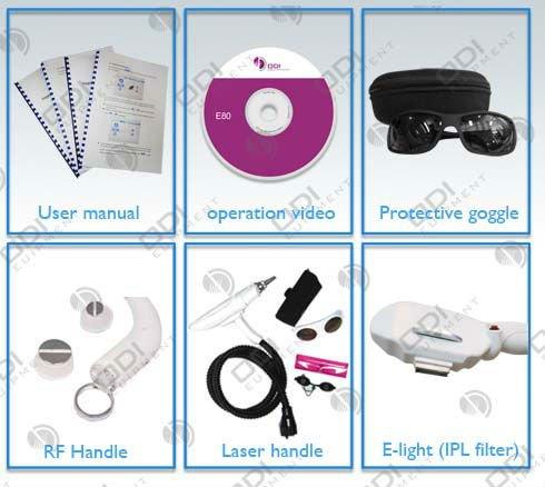 Toppest keyword: OPT SHR IPL + 10HZ Laser + RF Multi Beauty Machine