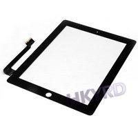 Компьютерные аксессуары 1PCS New Replacement Touch Screen Glass Digitizer For iPad 3 B0046