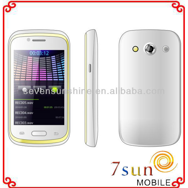 3.5 inch 3-sim android phone 5303