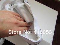 Мужские кроссовки Spring and autumn male fashion canvas sneakers shoes white and black color