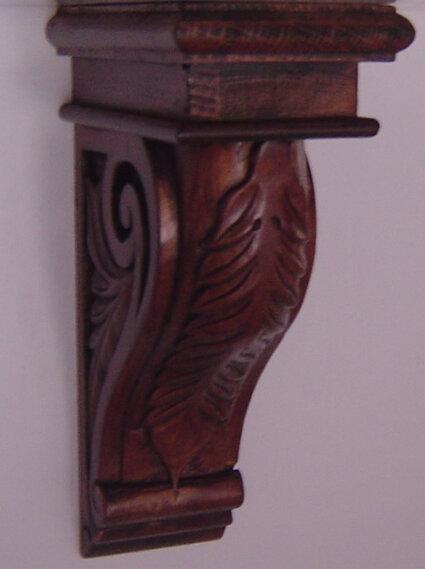 Cenefa de madera maciza cocina ménsula-Molduras-Identificación del ...