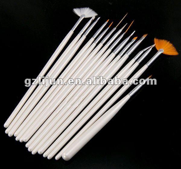 15pcs/ set nail art brush
