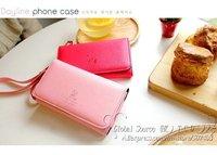 Чехол для для мобильных телефонов Long - Style Smart Multi wallet case for Galaxy S3 Cross pattern leather case for iphone 4s multi handbag for iphone 4