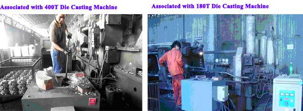 200KG aluminum melting induction furnace