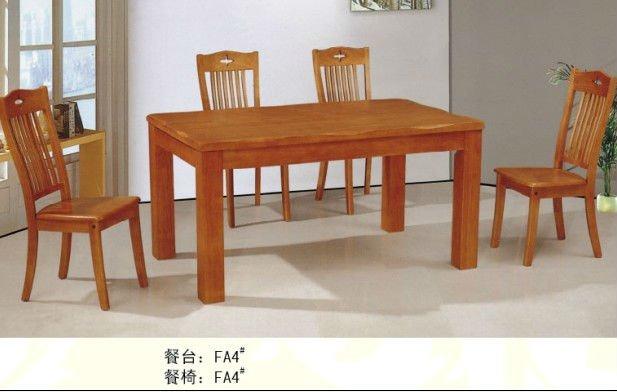 De alta calidad de madera mesa de comedor mesa comedor rústico de ...