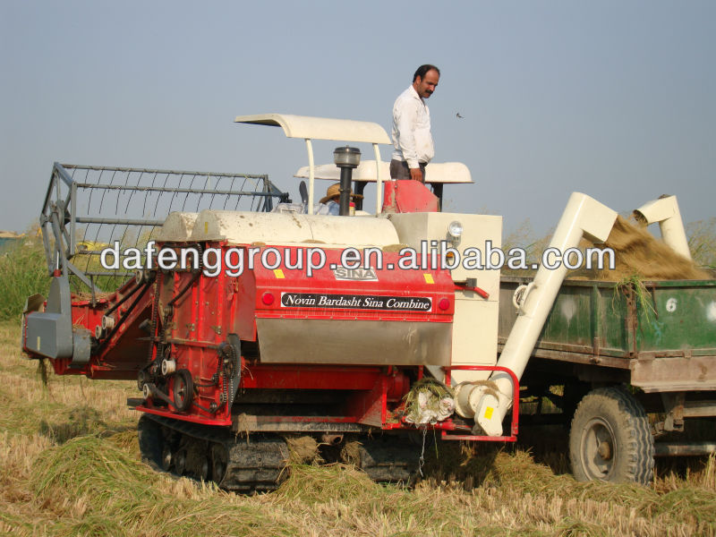 paddy used rice harvester 4LZ-3.0