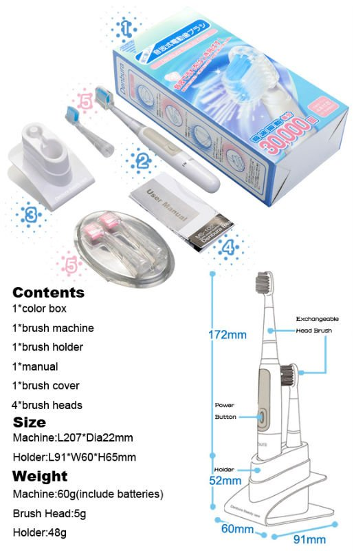 Electric rotating Toothbrush,Toothbrush Holder