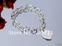 Браслет из серебра DIY bracelet, charm bracelet suit hand make brecelet, beads+chain+ charm+ pendant Gift box