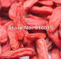 Сушеные фрукты 500g Ningxia Goji Berries Chinese Medlar, Dried Fruit