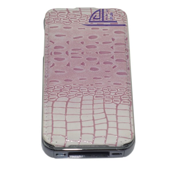 Leather back case for iphone 4 CS10