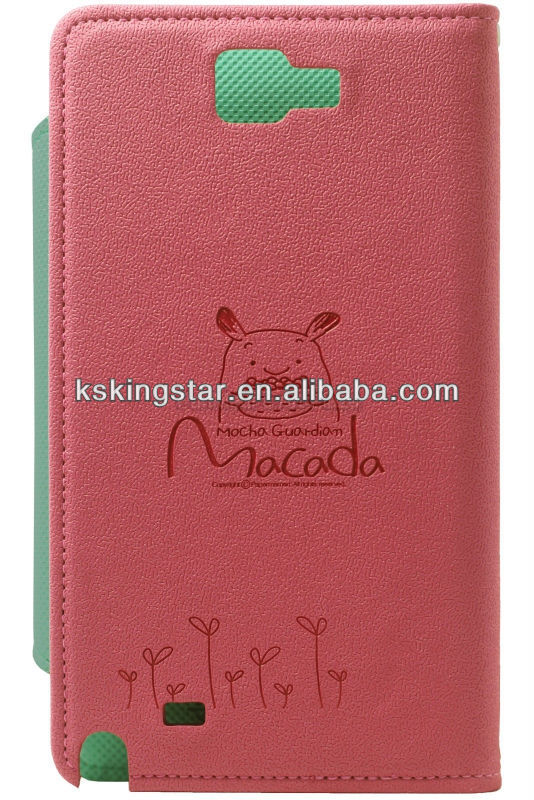 mobile phone protective leather cover