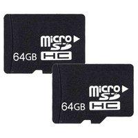 Карта памяти NEW MicroSD 64GB Micro SD Memory Card TF 64 GB, 64G with SD Adapter