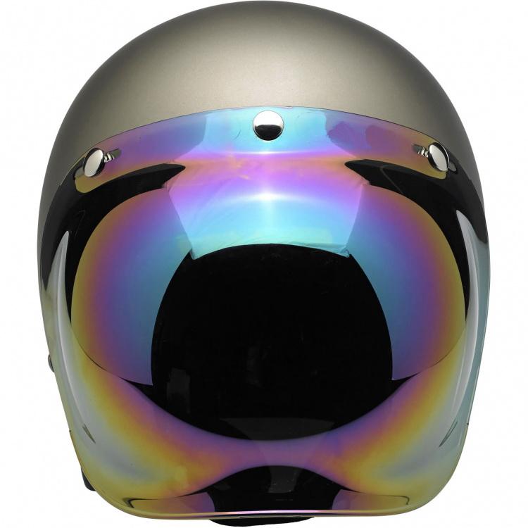 high quality motorcycle flat primer vintage helmets