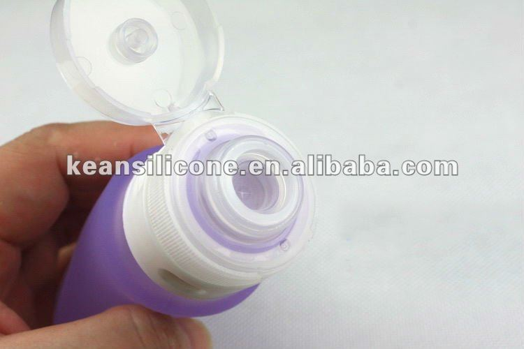 New Design Silicone Travel Empty and Refill Container for Cosmetics(BPA free)
