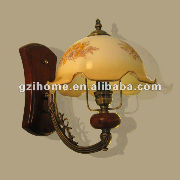 wooden and glass chandelier antique style (IH88111-3)