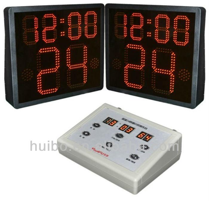 led basketball scoreboard
