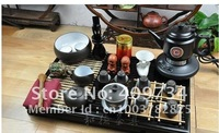 Складная мебель Specials Chinese Yixing Purple Sand Tea Set Whole Set Kung Fu Tea Set Wood tea tray