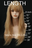 "Free Shipping! 22"", #99J ,Silky Straight, Synthetic Lace Front Wig"