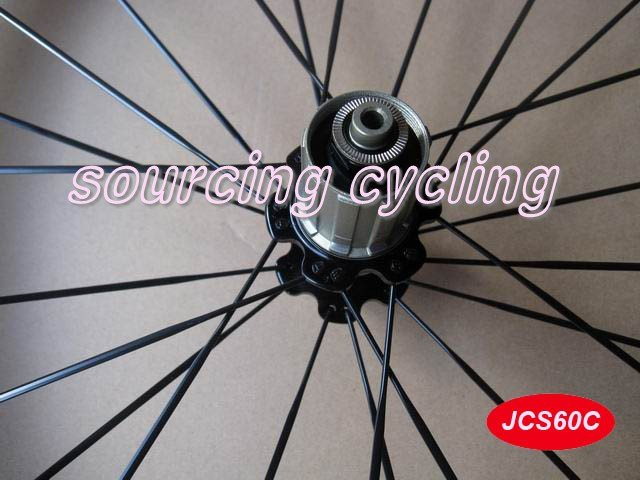 full carbon fiber cycle wheelset 60mm clincher&reasonable price