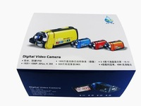 Принадлежности для дома for 3.0 inch TFT screen waterproof model with full HD digital camcorder and Orange, blue or yellow color