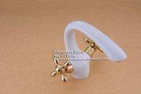 Смеситель для раковины Classic White Dual Handle Bathroom Bath Bar Lavatory Sink Faucet Mixer Tap 2250061