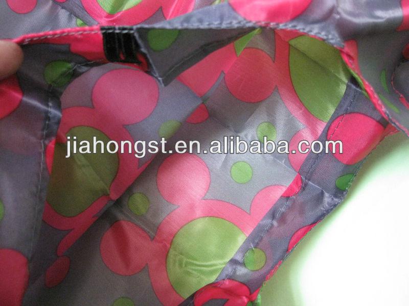 foldable strawberry shopping bag