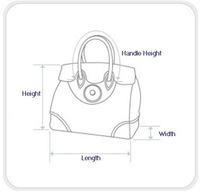 Top Quality Lady Business Bag 2012 Newest Handbag CROCO Pattern Original Package (Cards + Dust Bag) #T6918-Light Blue