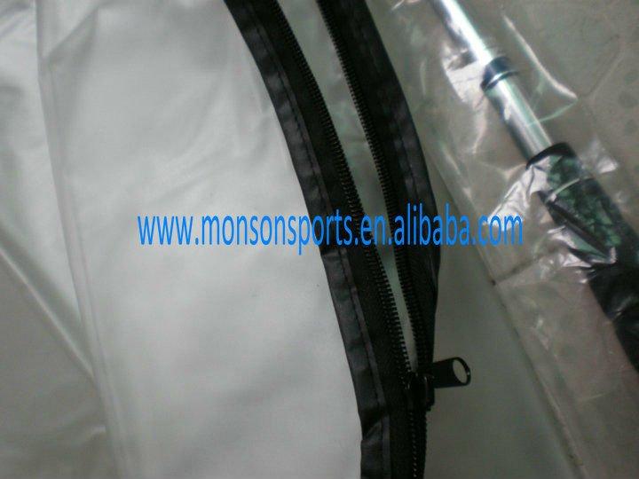 exquisite dull polish PVC golf rain cover golf bag rain cover