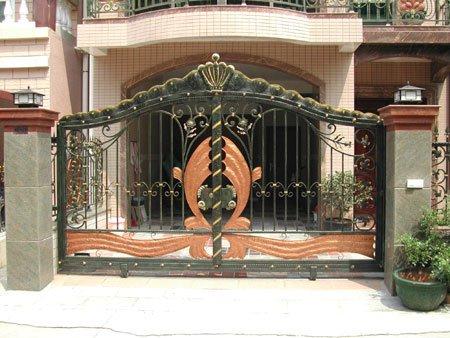 Metal garden gates  wrought iron garden gates or modern