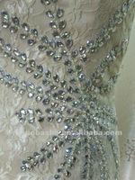 Fashionable One Shoulder Champagne Mini Lace Column Rhinestone Cocktail Dress