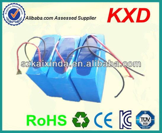 KXD wheelchair 12v 30ah lifepo4 battery pack