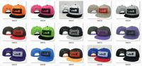 New Arrival Bad Boy Good Girl Snapback Cap Fashion Hip Hop Hat DGK Swagg WuTang WATIB Coke Boy Baseball Cap Hot Sale