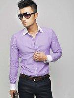 Мужская классическая рубашка 6046 Slim Fit : : S/M/L/XL CC6046