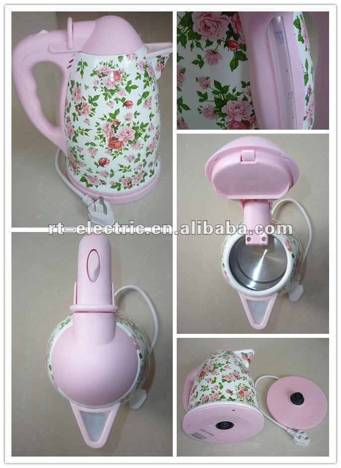 new designed enamel electric jug kettle, CE/RoHS approved enamel jug kettle, enamel water kettle