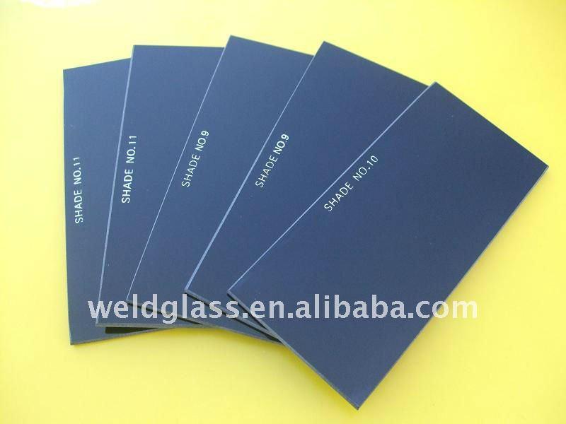 black welding helmet protective glass