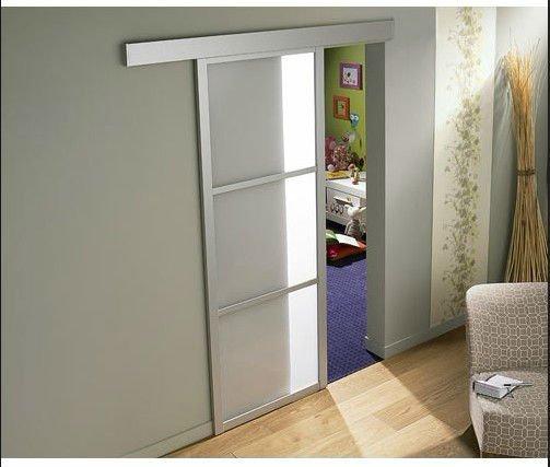 Foshan porte coulissante en verre avec accessoires portes for Accessoires porte coulissante