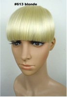 Накладная челка New Fashion Blonde Clip On Hair Bang Fringe Good Quality On Sale Xmas Gift