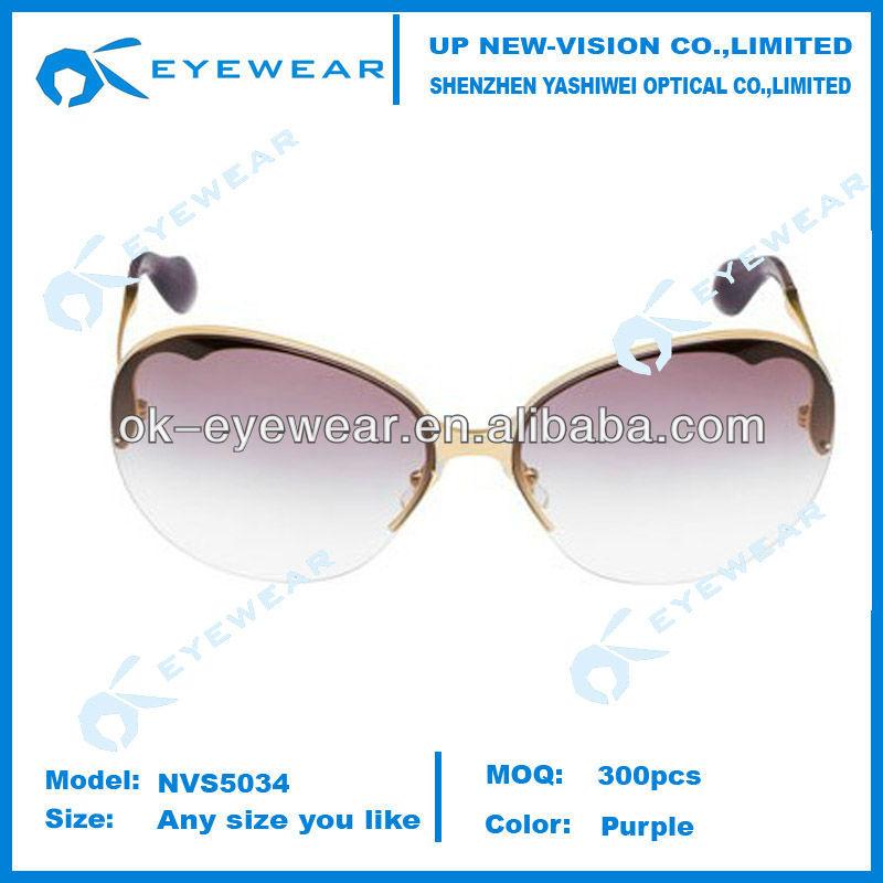 Womens Metal UV 400 ce sunglasses