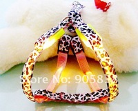 Ошейники и Поводки для собак New Product! Fashion Leopard Grain Series-LED Dog Harness TZ-PET3105 MOQ 3 Pieces