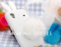 Чехол для для мобильных телефонов phone shell for Samsung S5830, i579 shell, s5830 mobile phone sets of s5660 mobile phone shell, rabbit silicone@86